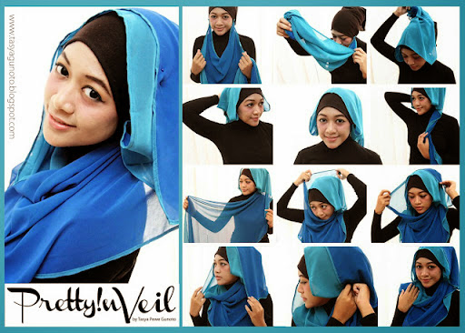 model jilbab pashmina april jasmine