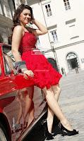 Hansika Motwani in lovely Red Mini Dress Dance Stills 02 .xyz.jpg