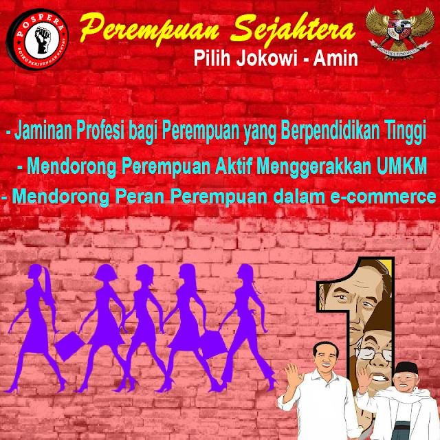 Perempuan Sejahtera Pilih Jokowi