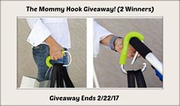 Enter the The Mommy Hook Giveaway. Ends 2/22