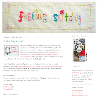 Crafty Blog School screenshot