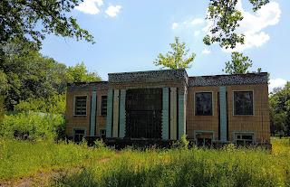 Графське. Великоанадольський лісовий коледж. Старий корпус для військової кафедри