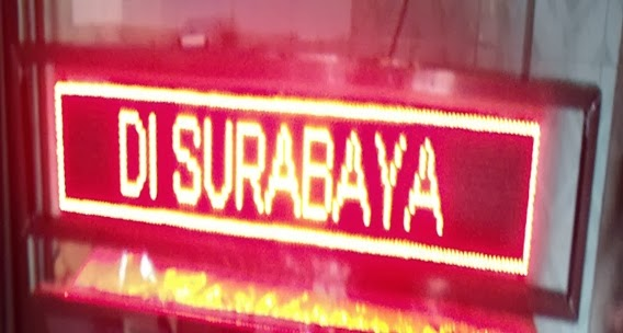Moving Sign Murah Papan Skor Digital Alat Antrian