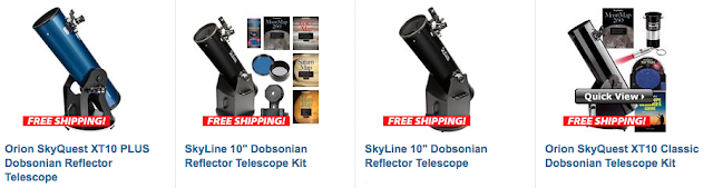"Orion Telescopes and Binoculars 10"" Dobsonian Telescopes"