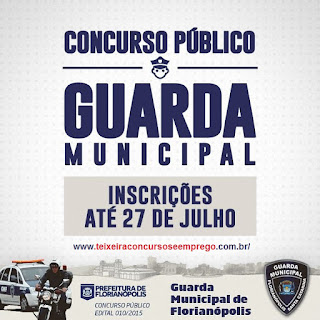 Apostila Impressa Guaga Municipal de Florianópolis 2015.