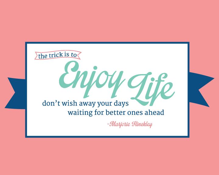 Enjoy Life Free Desktop Wallpaper