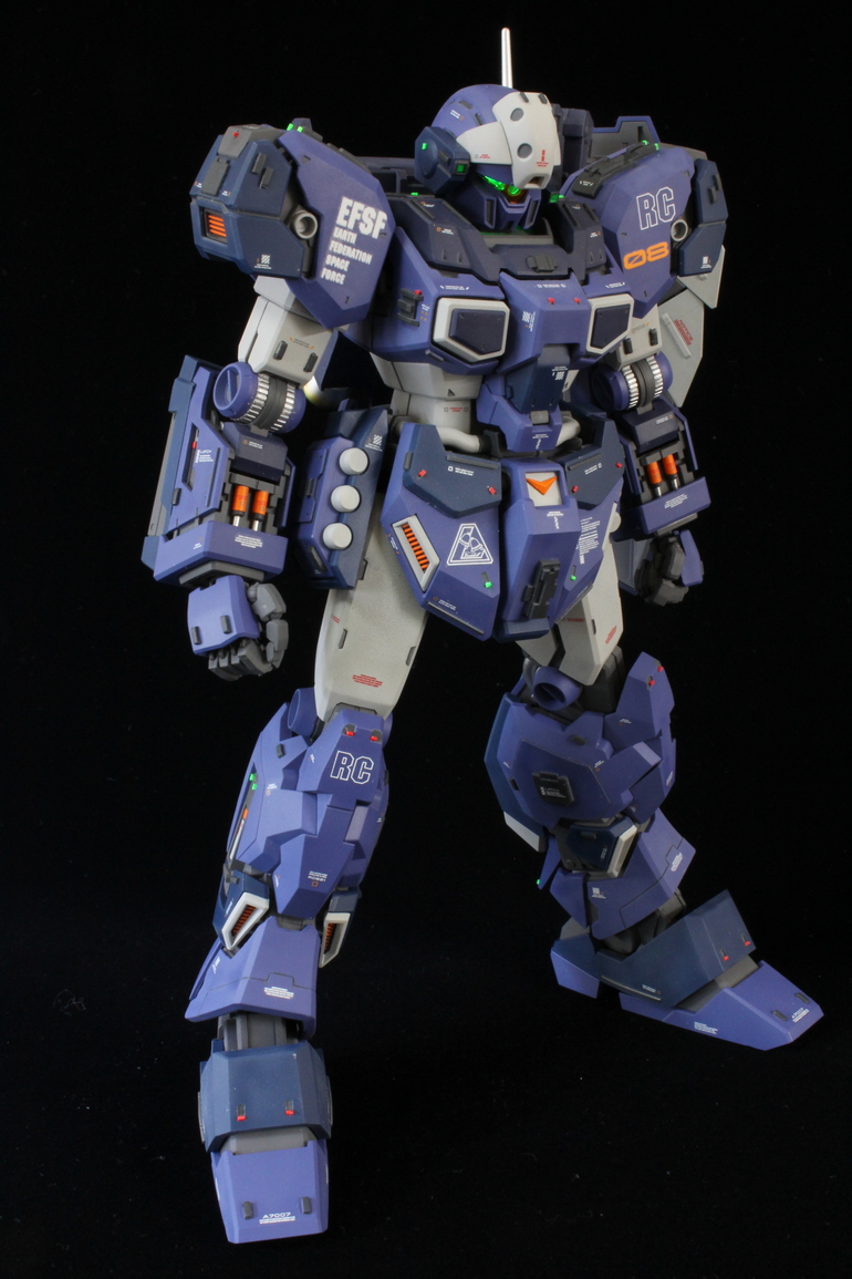Custom Build: MG 1/100 RGM-96X Jesta [Detailed] - Gundam Kits Collection News and Reviews