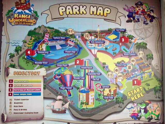Tarikan terbaru di Bangi | Taman Tema Air Bangi Wonderland; Harga Tiket Masuk Taman tema Bangi Wonderland