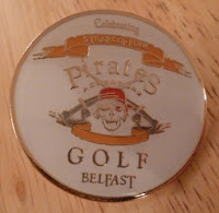 Pirates Adventure Golf Belfast Pin Badge #1