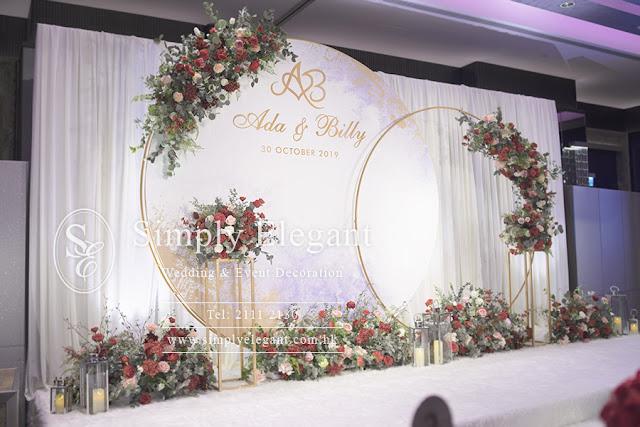 JW Marriott Hotel,萬豪酒店,Wedding,Decoration,婚禮,佈置