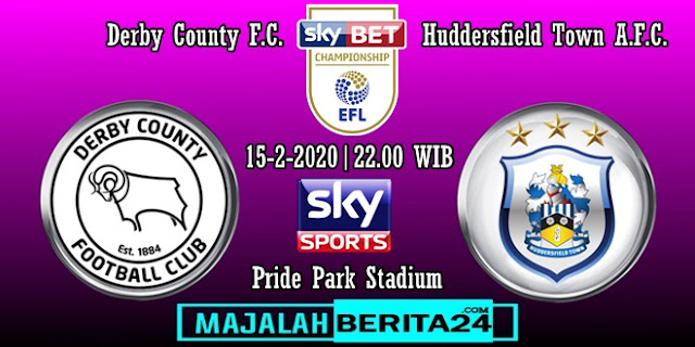 Prediksi Derby County vs Huddersfield Town
