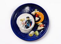 Cafetería de Sailor Moon en Japón, Hotcakes, comida.