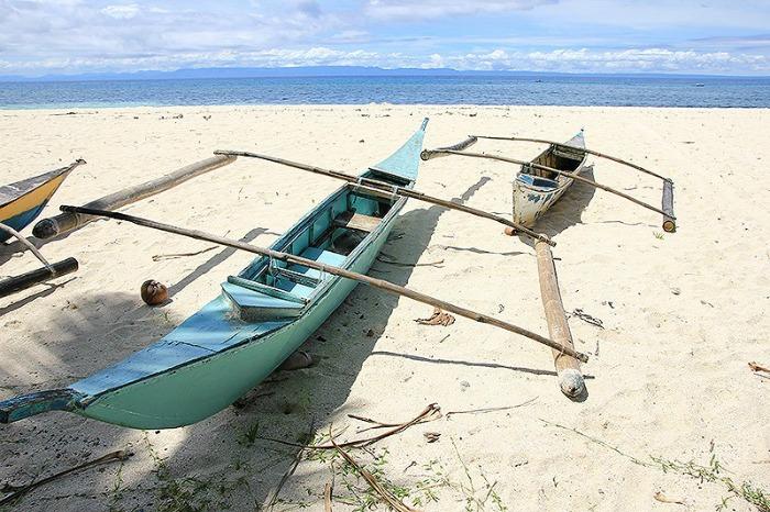santiago beach, camotes island