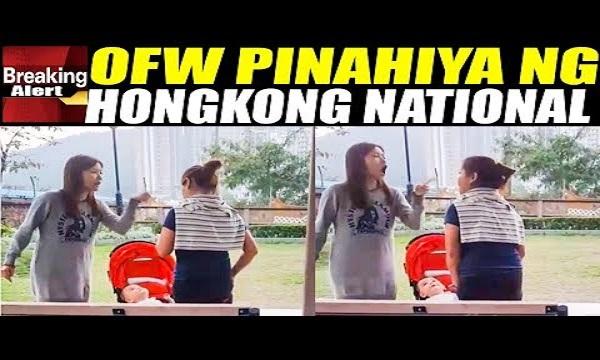 VIRAL VIDEO NG OFW NA PlNAHlYA NG INSTIK SA HONGKONG