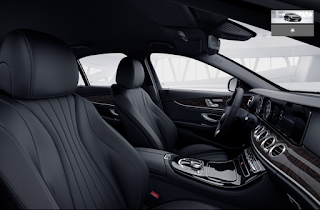 Nội thất Mercedes E250 2016 màu Đen 801