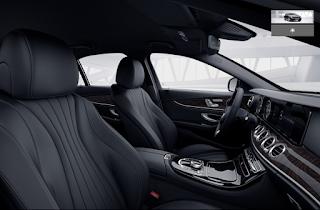 Nội thất Mercedes E250 2018 màu Đen 801