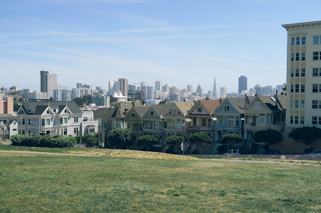 Painted Ladies Full House San Francisco