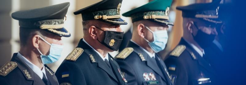 В Україні з'явились перші бригадні генерали