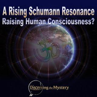 A Rising Schumann Resonance Raising Human Consciousness?