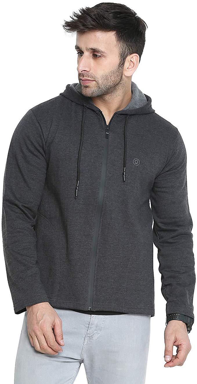 Men's Hoodie Zipper Jacket