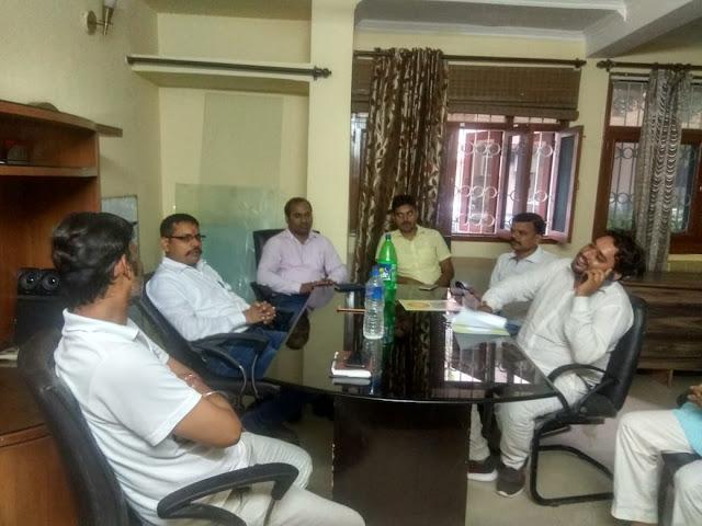 भूमिहार ब्राह्मण एकता मंच की बैठक दिल्ली में