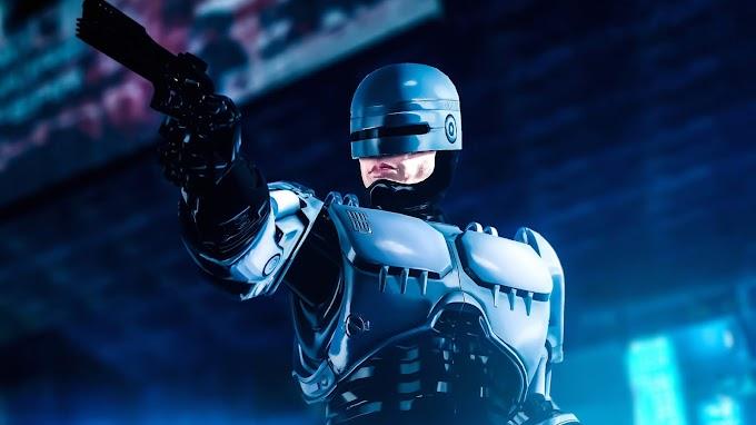 Policial RoboCop Papel de Parede