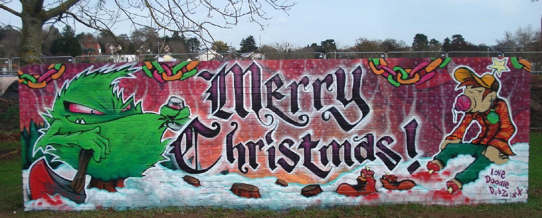 10 Merry Christmas Graffiti Art Graffiti Tutorial