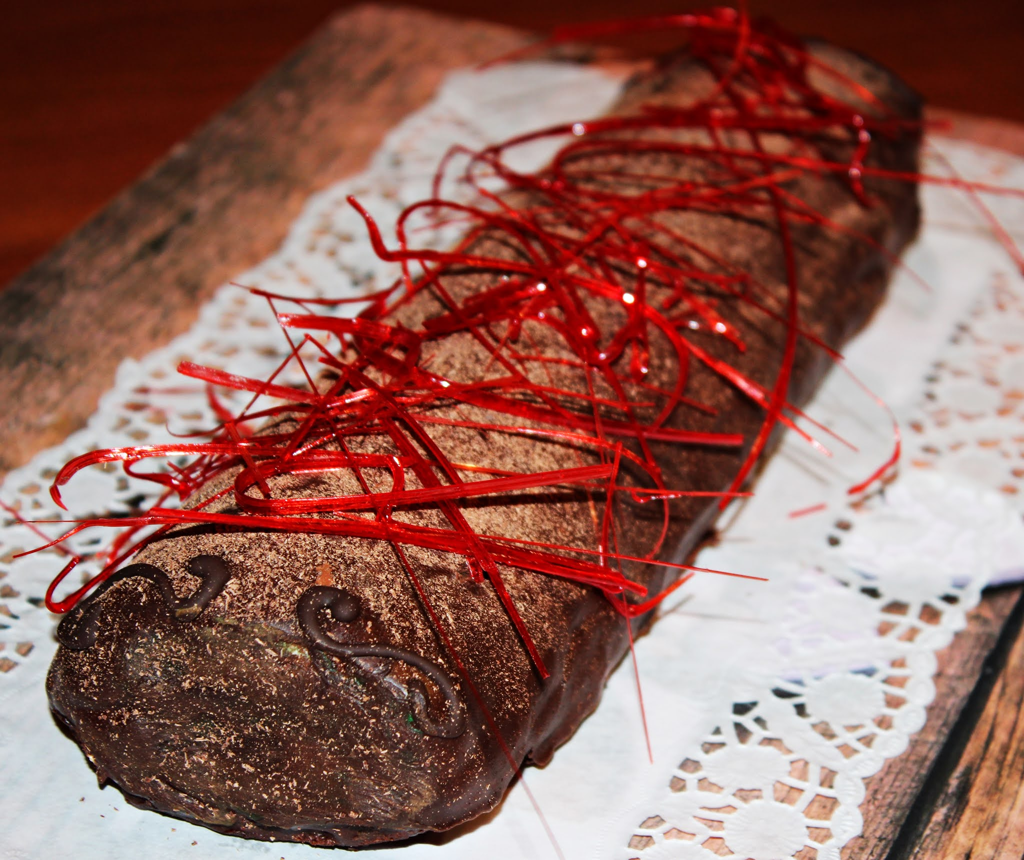 BRACITO DE CHOCOLATE Y NATA