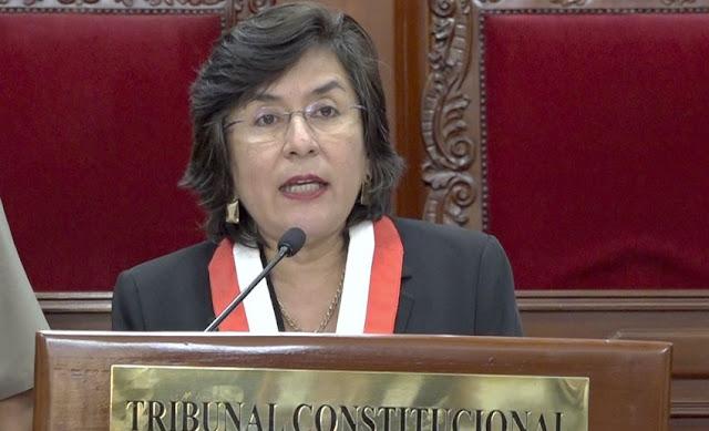 Marianella Ledesma sobre Inmunidad parlamentaria