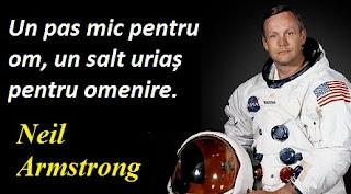 Citatul zilei: 5 august -  Neil Armstrong