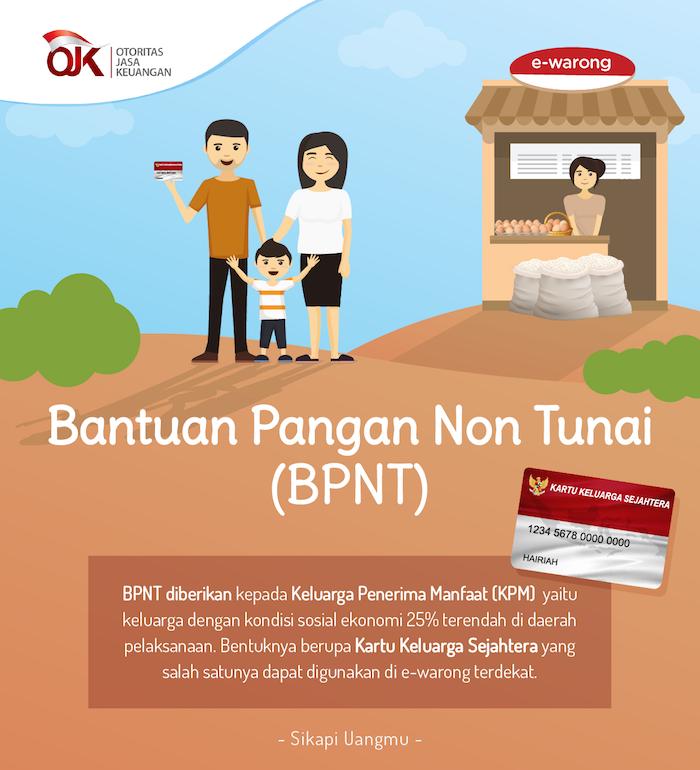 KPM Kelurahan Pakuhaji Terima  Bantuan Program BPNT