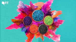 makeup ideas for holi with organic color.