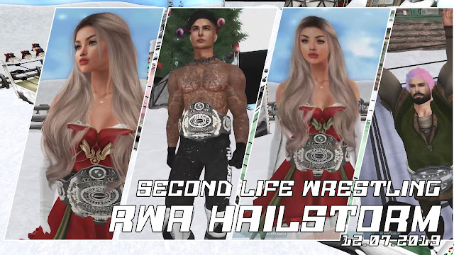 RWA HAILSTORM (12/7/2019) • Pro-Wrestling in Second Life • FULL SHOW