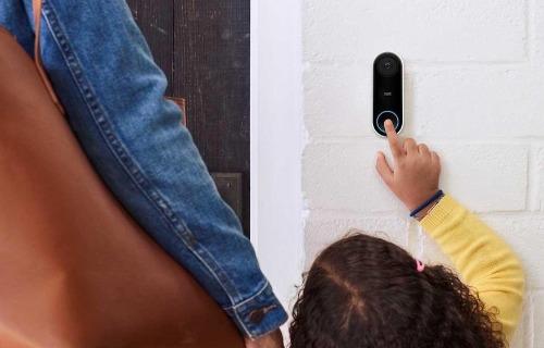 Google Nest video deurbel test