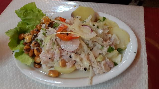 ceviche de mero peruano receta facil