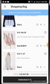 كيف أشتري من موقع SHEIN