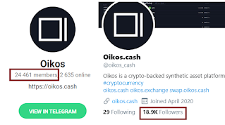 Claim your free oikos airdrops