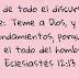 Eclesiastés 12:13