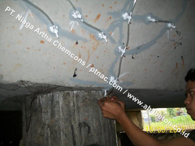 Jasa Perbaikan Beton Retak
