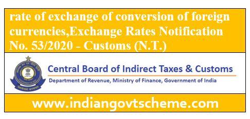 Exchange Rates Notification