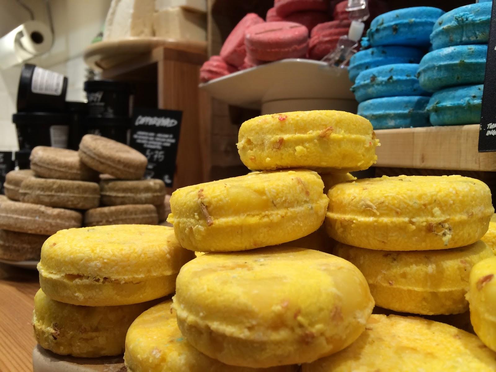 Lush Leicester bath natural organic fair trade