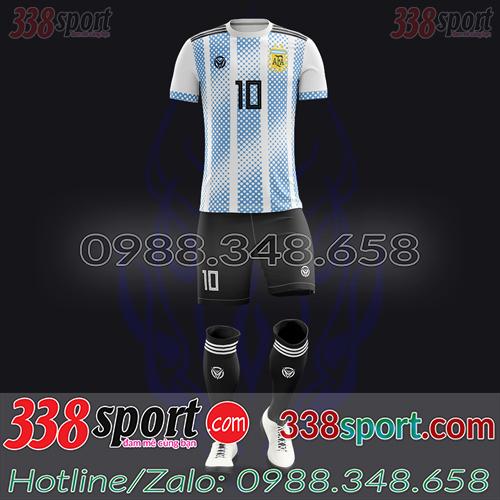 Áo Đội Tuyển Argentina Đặt May Theo Yêu Cầu - Mã AGRENTINA 03