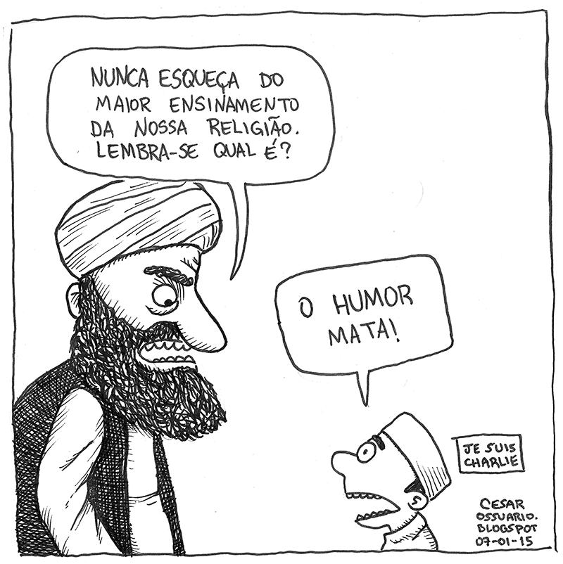 Cesar Andrade - Charlie Hebdo