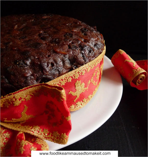 south african christmas cake