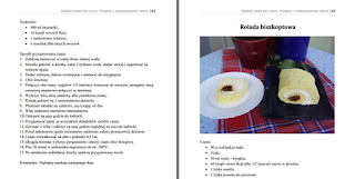 Wnętrze e-booka – rolada biszkoptowa