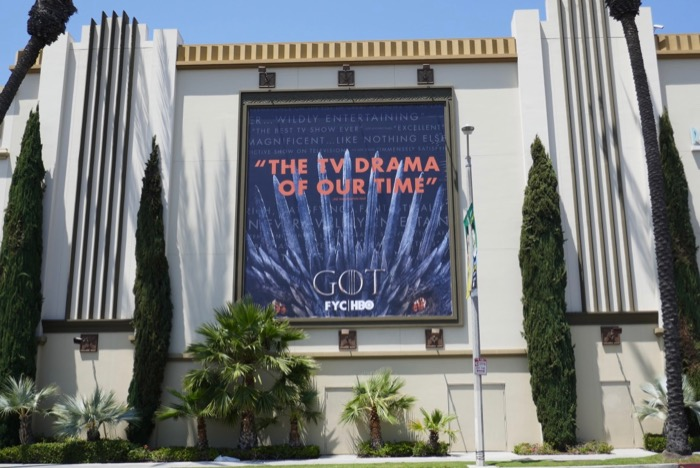 Game of Thrones 2019 Emmy FYC billboard