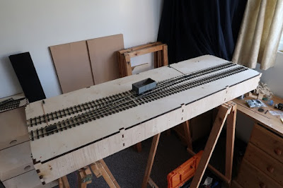 Laying the O gauge track