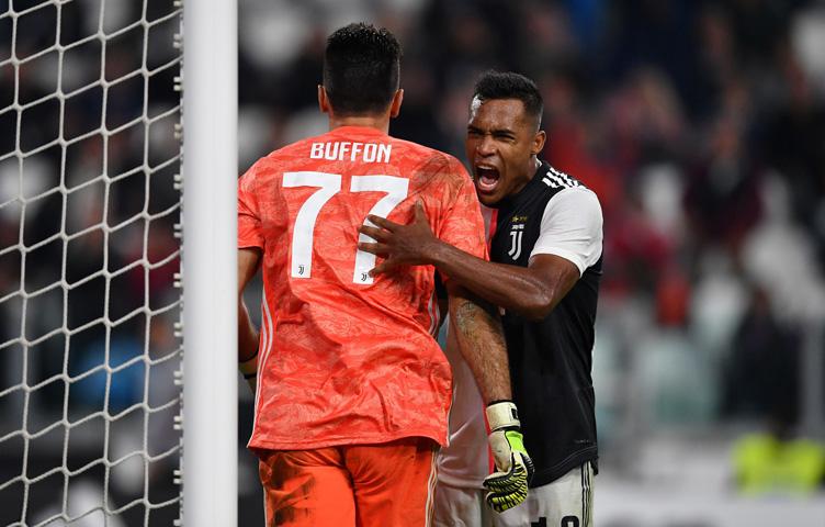 """Alex Sandro: """"Buffon je uvijek tamo gdje ga trebate"""""""