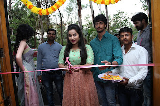 Tollywood Actress Komali Inaugurates at Sri Raja Rajeshwari Gardens