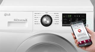 mesin cuci lg front loading 8 kg terbaru